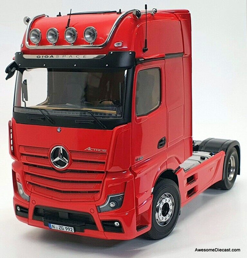 NZG 1:18 2020 Mercedes Benz Actros GigaSpace 4x2 Tractor / Prime Mover