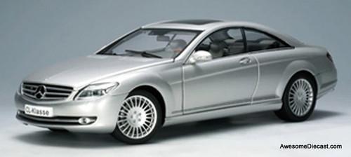 AutoArt 1:18 2006 Mercedes Benz CL Class, Silver
