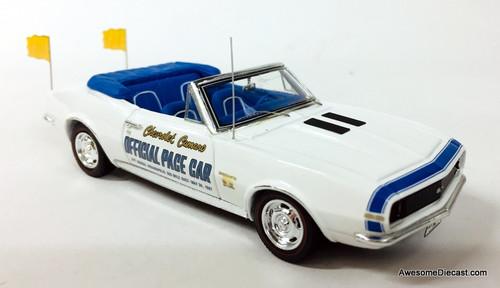 Spark 1:43 1967 Chevrolet Camaro Convertible: Indianapolis Pace Car