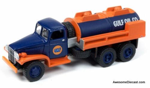 CMW 1:87 1940 GMC 6x6 Tanker: Gulf Oil