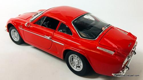 Maisto 1:18  1971 Alpine A110 Renault  1600S, Red