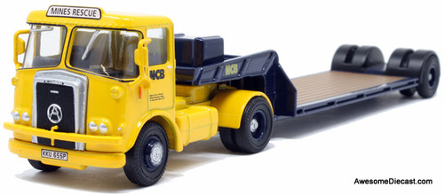 Oxford 1:76 1976 Atkinson Borderer w/Lowboy Trailer: NCB Mines Rescue