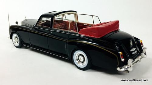 TSM 1:43 1967 Rolls Royce Phantom V State Landaulette: Queen Elizabeth 11, Bermuda