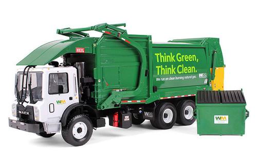 First Gear 1:34 Mack TerraPro Refuse Truck w/ Heil Half/Pack Freedom Front Loader w/ CNG Tailgate & Trash Bin