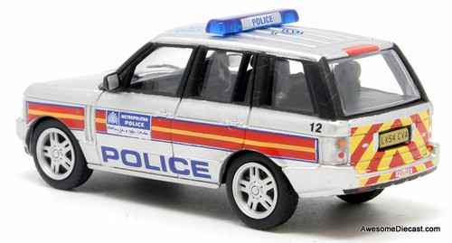 Oxford 1:76 2014 Range Rover 3rd Generation: London Metropolitan Police