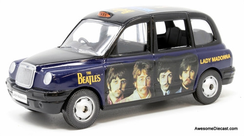 Corgi 1:36 London Taxi Cab, Beatles Livery: Lady Madonna