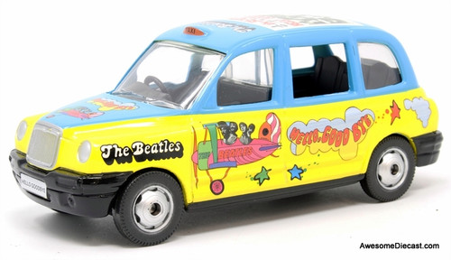 Corgi 1:36 London Taxi Cab, Beatles Livery: Hello, Goodbye
