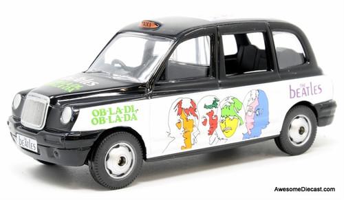 Corgi 1:36 London Taxi Cab, Beatles Livery: OB-LA-DI, OB-LA-DA