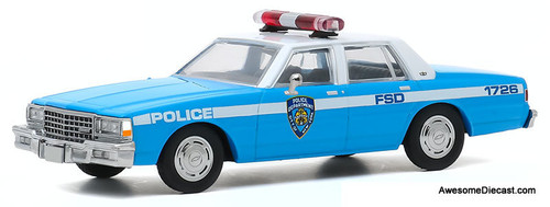 Greenlight 1:43 1990 Chevrolet Caprice: New York City Police Department