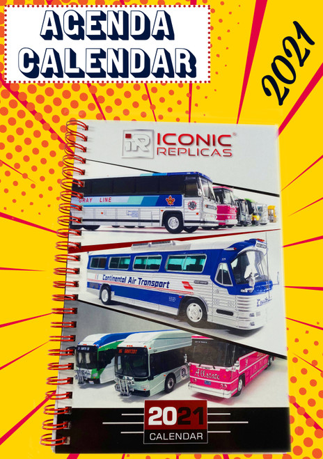 Iconic Replicas 2021 Agenda / Calendar - Limited Edition
