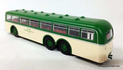 Brekina 1:87 Bussing 12000T: Duisburg Transport Company, Germany