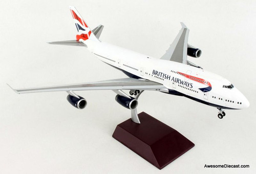 Gemini 200 1:200 Boeing 747-400: British Airways