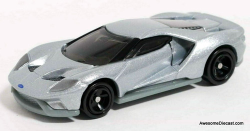 Tomica 1:64 Ford GT Concept Car, Metallic Silver