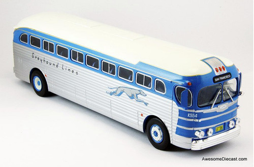 Hachette 1:43 GMC PD 3751 Greyhound Lines: San Francisco