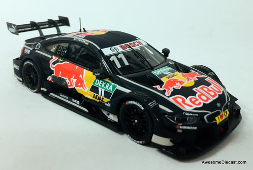 Only One!! Spark 1:43 2017 BMW M4 Team RMG Red Bull: Hockenheim 2017, Germany
