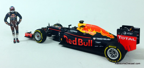 Minichamps 1:43 Formula One: Red Bull Racing, Tag Heuer RB12, Austrian Grand Prix 2016