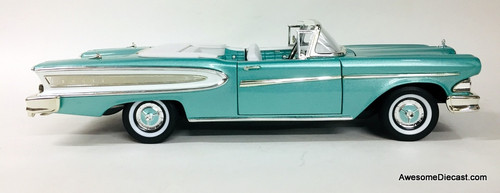 Road Signature 1:18 1958 Edsel Citation Convertible, Turquoise