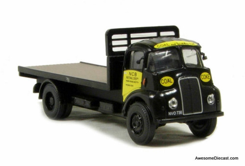 BT Models 1:76 Thornycroft Flatbed: National Coal Board Retail