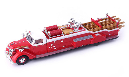 Auto-Cult 1:43 1941 Diamond T Ladder Truck: Hamden F.D.