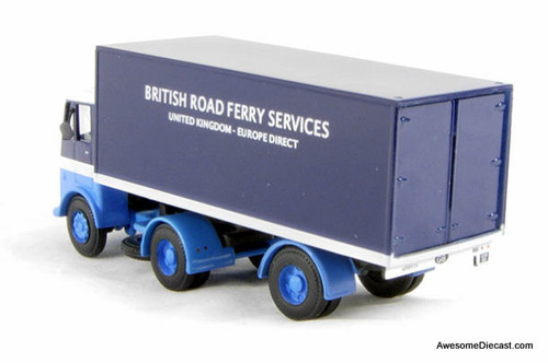 BT Models 1:76 Bristol HA Tractor w/Trailer: British Road Ferry Services