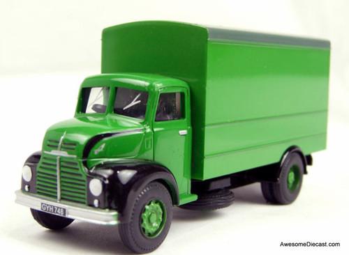 BT Models 1:76 1954 Leyland Comet Truck, Green