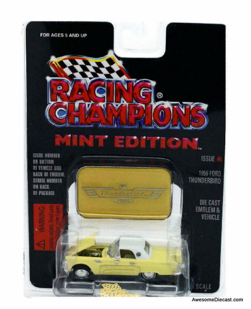 Racing Champions Mint Edition 1:56 1956 Ford Thunderbird, Yellow