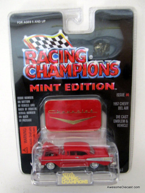 Racing Champions 1:61 1957 Chevrolet Bel Air, Red
