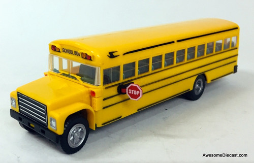 RARE!! Con-Cor 1:87 Blue Bird School Bus