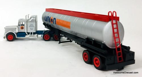 Con-Cor 1:87 Kenworth Sleeper Cab w/Fuel Tanker: Union 76
