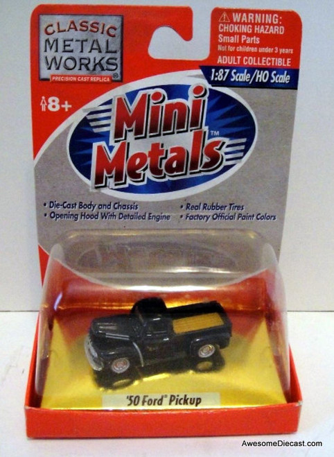 CMW 1:87 1950 Ford Pick-Up, Blue