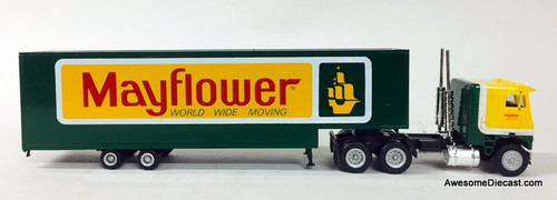 Con-Cor 1:87 Freightliner COE w/Moving Trailer: Mayflower Moving