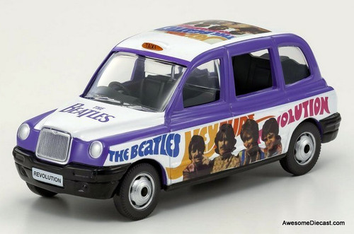 Corgi 1:36 London Taxi Cab, Beatles Livery: Hey Jude