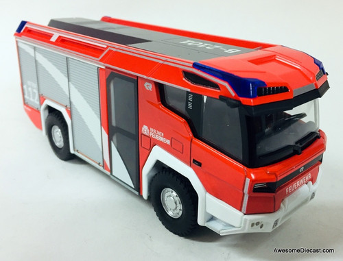 Wiking 1:43 Rosenbauer RT Electric Fire Truck: Berlin Fire Service, Germany