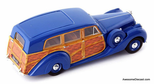 Avenue43 By AutoCult 1:43 1949 Bentley Mark V1 Estate Rippon, Blue
