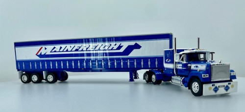 """DCP by FG 1:64 Mack Super-Liner w/ Tri-Axle Tautliner Trailer"""" MainFreight New Zealand"""