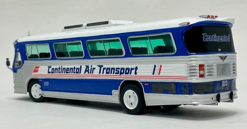Iconic Replicas 1:43 1980 Flxible Coach: Continental Air Transport