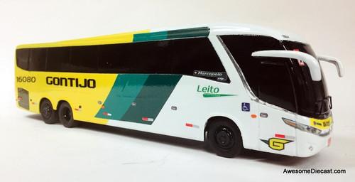 BraziBus 1:43 Marcopolo Paradiso G71200 Coach: Rio De Janeiro