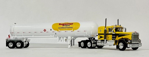 DCP by FG 1:64 KW W900A w/ Propane Tanker - Superior Propane