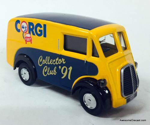 RARE!! Corgi 1:43 Morris J  Van: Corgi Collectors Club 1991