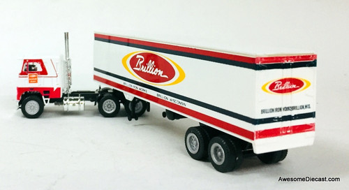 Con-Cor 1:87 Freightliner Tractor w/Trailer: Brillion Iron Works