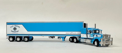 DCP by FG 1:64 MACK SuperLiner w/ Tri-Axle Reefer: Tuff Trucks Australia
