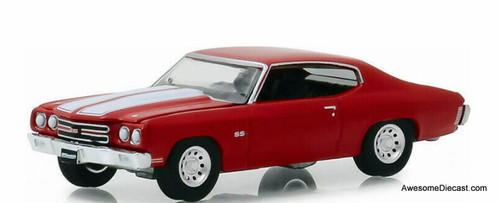 Greenlight 1:64 1970 Chevrolet Chevelle SS 454, Red