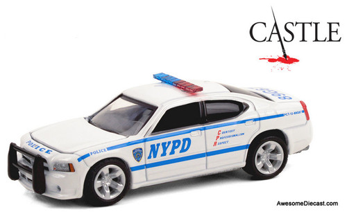 Greenlight 1:64 2006 Dodge Charger: NYPD, Castle TV Series