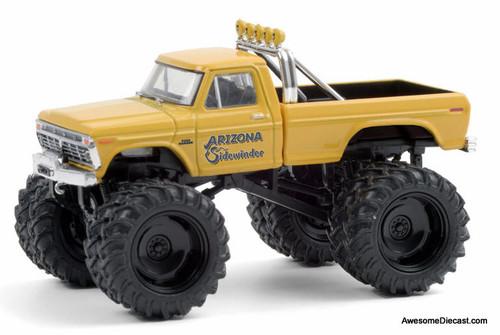 Greenlight 1:64 1975 Ford F-250 Monster Truck: Arizona Sidewinder