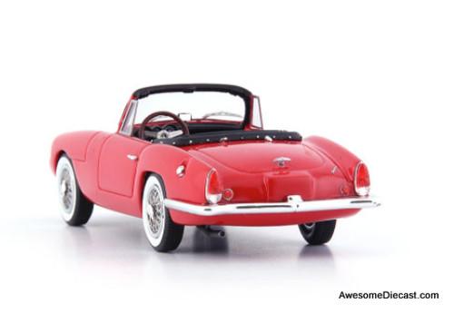 Autocult 1:43 1962 Sabra Sport Roadster, Red: Israel