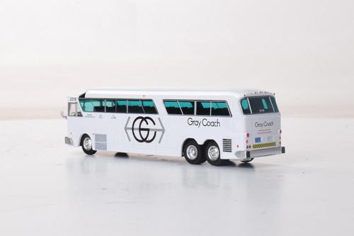 Iconic Replicas 1:87 MCI MC-7 Motorcoach: Gray Coach