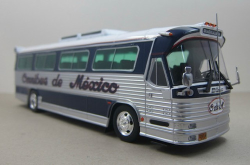 Iconic Replicas 1:43 1980 Dina Olimpico Coach: Omnibus de Mexico