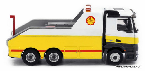 Tiny 1:76 Mercedes-Benz Antos Tow Truck: Shell Oil