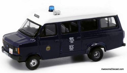 Tiny 1:76 1980 Ford Transit: Royal Hong Kong Police