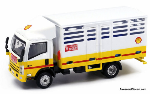 Tiny 1:76 Isuzu N-Series Delivery Truck: Shell Bottled LPG Gas